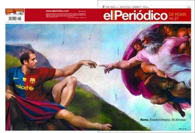 Portada El Periódico de Catalunya final champions 2009