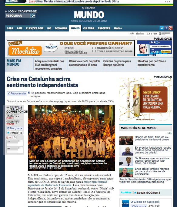 O Globo MUNDO